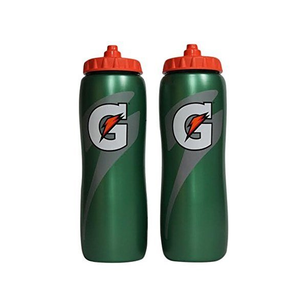 해외쇼핑/Gatorade 32 Oz Squeeze Water Sports Bottle -Pack of 2 - New Easy Grip Design 상품이미지