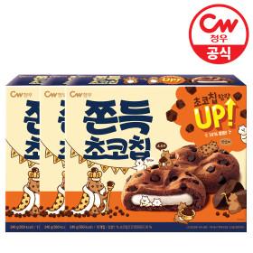 찰떡과 초코칩의 만남 쫀득초코칩 12개입 240g 3박스