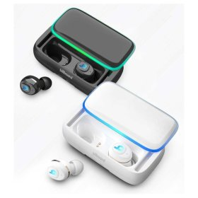 빌보드 파워뱅크 TWS 블루투스 이어폰 Airo30-블랙