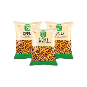 Original Traditional Taste DRIED LAVER SNACK 145g x 3 Bags