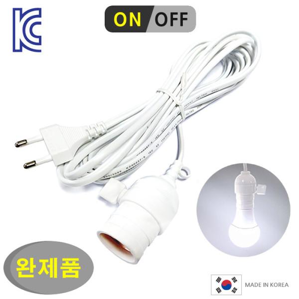키소켓 전선 코드/LED전구 백열전구 조명 전등 캠핑등 상품이미지