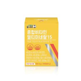 고철남헬스케어 종합비타민 멀티미네랄15 100일분