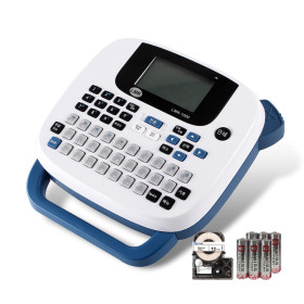 휴대용 라벨프린터 LMK-1000블루 한국브랜드 스마일