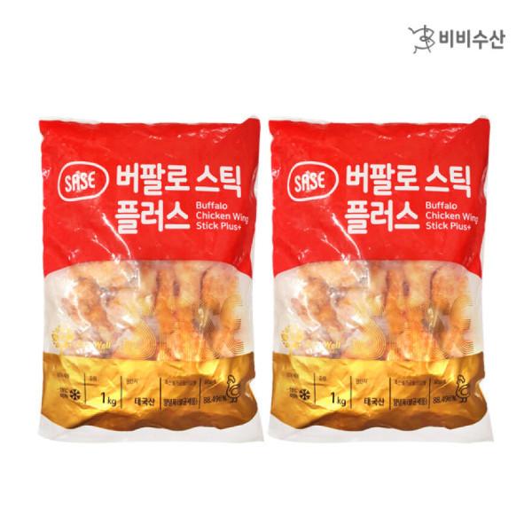 사세 버팔로봉(스틱/1kg)+버팔로봉(스틱/1kg)/ 비비수산 상품이미지