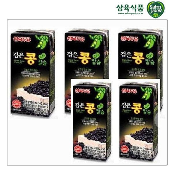 검은콩칼슘두유 190mlX24팩 상품이미지