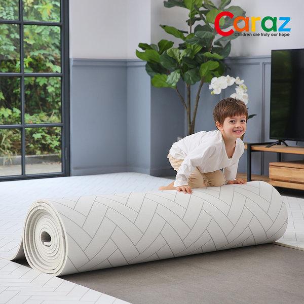 돌돌이 PVC 롤매트 110x300x1.4cm 헤링본 놀이방매트 상품이미지