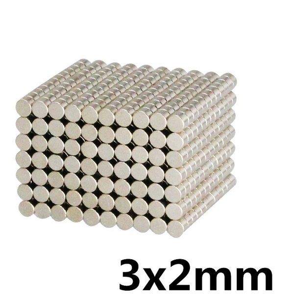 초강력네오디움 원형자석 3x2mm 자석 상품이미지