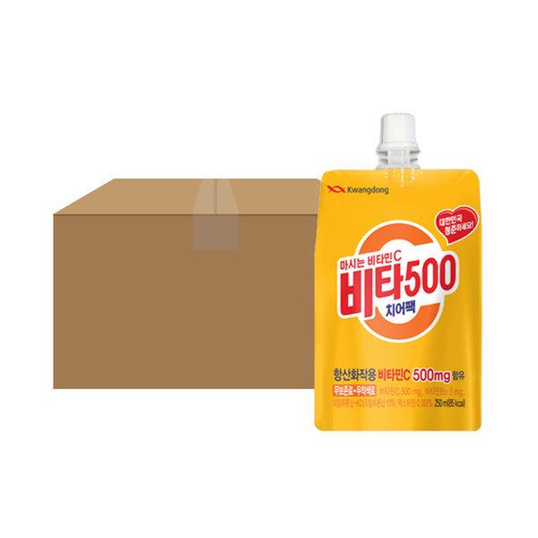 비타500 치어팩 250ml 30입 1박스 상품이미지