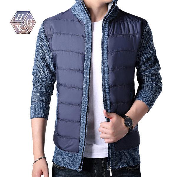 패딩 짚업 스웨트 자켓 상품이미지