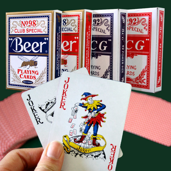 BEER/BCG}포카 포커 트럼프 카드 카지노 마술 게임 상품이미지