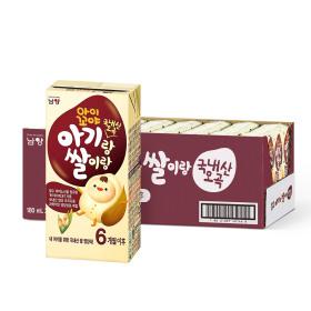 아이꼬야 아기랑쌀이랑 이유식 영양식 180mlx24팩(오곡