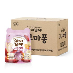 아이꼬야 아이간식 고구마퐁 30gx4개/개별포장