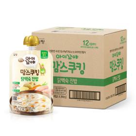 아이꼬야 맘스쿠킹 이유식 10개 닭백숙(12개월-)