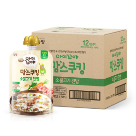 아이꼬야 맘스쿠킹 이유식 10개 소불고기(12개월-)