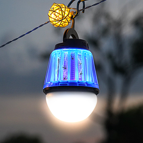 휴대용 모기 해충 퇴치 생활방수 LED 캠핑랜턴