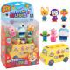 유치원 미니버스 피규어 6종포함 장난감 선물