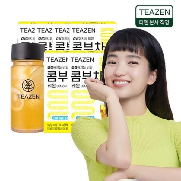 MLC 티젠 콤부차 레몬 6박스/보틀 증정 상품이미지