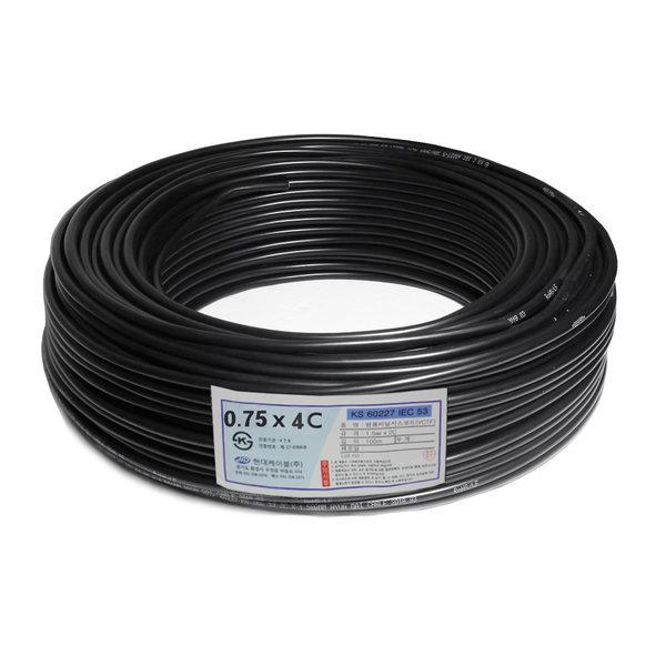 VCTF/전기선/전선/충진형(VCTF) 0.75SQ X 4C(1롤100m) 상품이미지