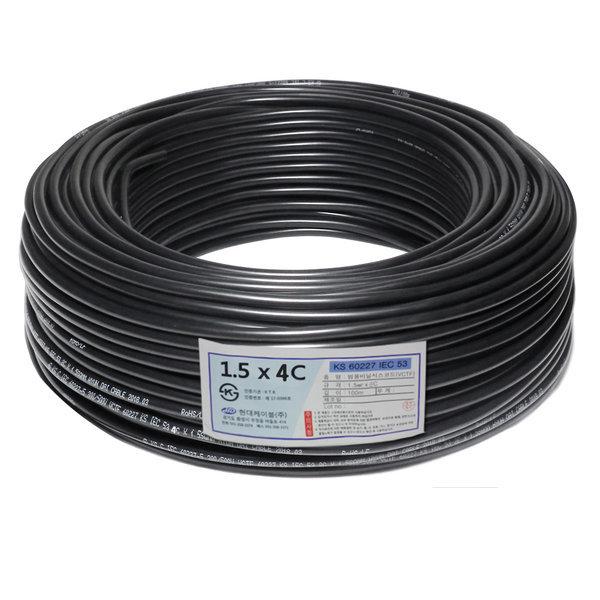 VCTF/전기선/전선/충진형(VCTF) 1.5SQ X 4C(1롤-100m) 상품이미지