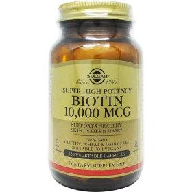 Solgar 솔가 비오틴 Biotin 10000 mcg 120야채캡슐