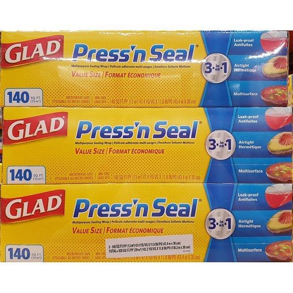 GLAD 프레스앤씰 매직랩 식품포장용 글래드 랩 밀봉 상품이미지