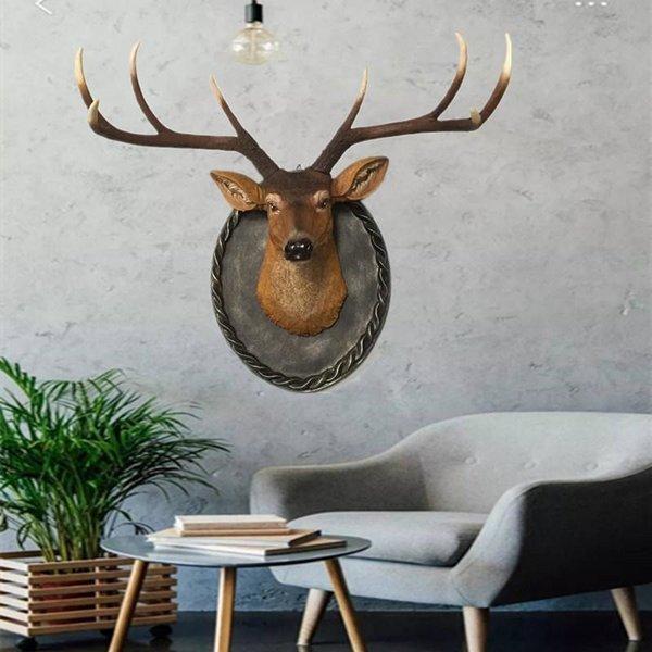 사슴 벽 레스토랑 벽걸이 헌팅트로피 상품이미지