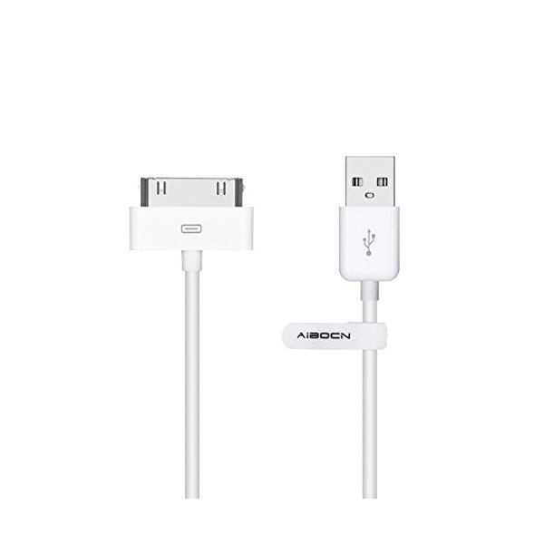 해외쇼핑/Aibocn MFi Certified 30 Pin Sync and Charge Dock Cable for iPhone 4 4S / iPad 1 2 3 / iPod 상품이미지