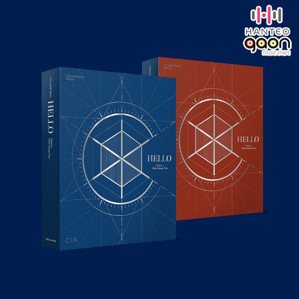 (버전선택)  CIX (씨아이엑스) - 2nd EP HELLO Chapter 2. Hello Strange Place 상품이미지