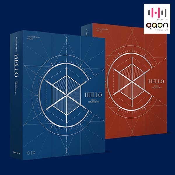 Set (앨범2종+포스터2장+지관통) 씨아이엑스 (CIX) / Hello Chapter 2. Hello Strange Place (2nd EP) 상품이미지