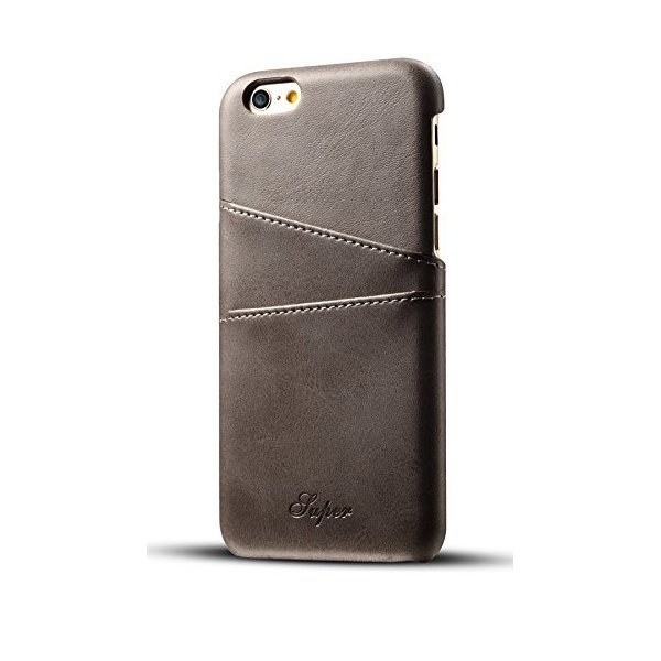 해외쇼핑/iPhone 6S Plus/6 Plus Wallet Phone Card Holder Case Slim Leather Back Cover 상품이미지