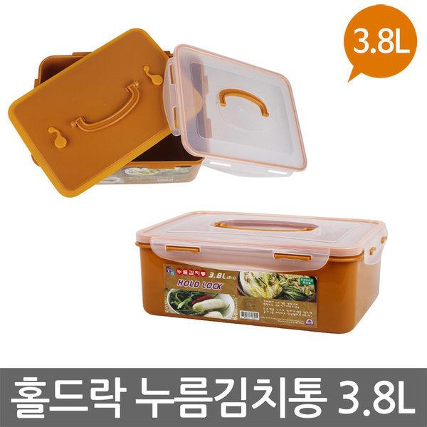 홀드락 누름김치통 5-1 (3.8L) 밀폐용기/누름독/누름락 상품이미지