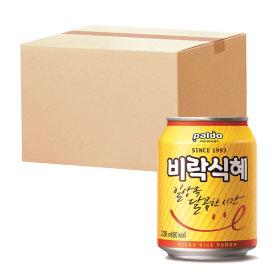 팔도 비락 식혜   238ml(캔) x 2박스 (24캔)
