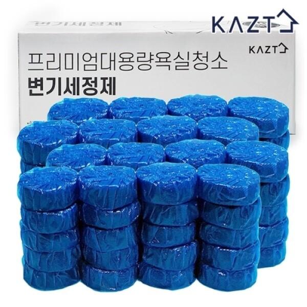 가쯔 대용량욕실청소변기세정제50g80개 상품이미지