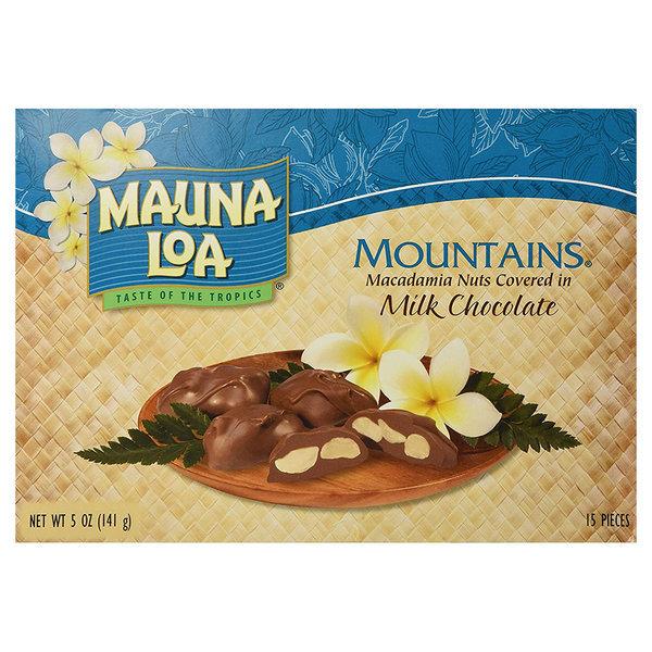 마우나로아 마운틴밀크초콜릿 마카다미아 15개입 141g 상품이미지