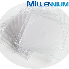 공CD/DVD 투명슬림케이스 10장/CD케이스/CD보관함