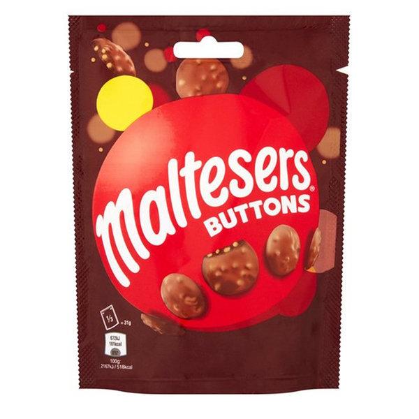 Maltesers Buttons 몰티져스 버튼스 파우치 93gx6팩 상품이미지