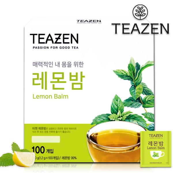 티젠 레몬밤차 100T /레몬밤/허브차/레몬차 상품이미지