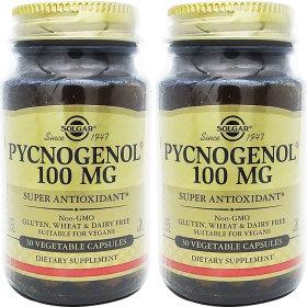 2병 Solgar 솔가 피크노제놀 100mg 30야채캡슐
