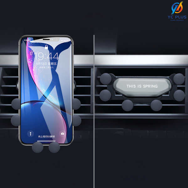 YCPLUS 차량용 휴대폰 핸드폰 스마트폰 거치대 그레이 상품이미지