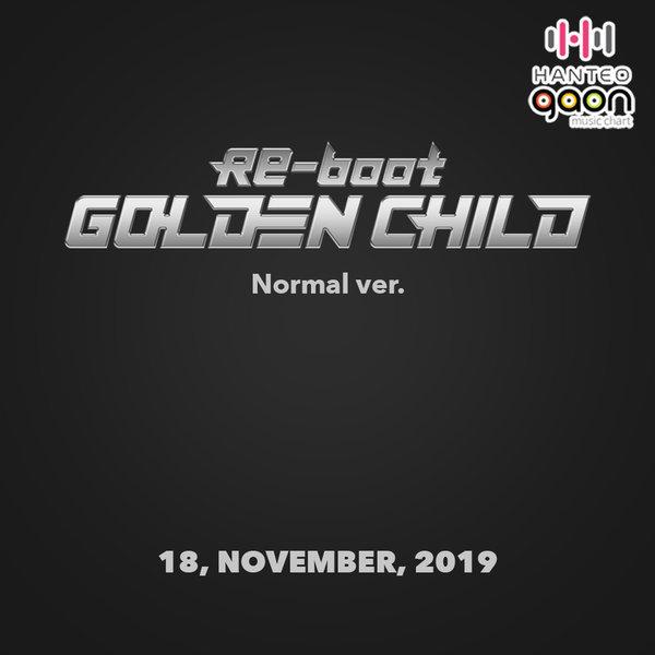 (Normal ver.) 골든차일드 (Golden Child) - 정규1집 Re-boot (켈린더+스페셜포토카드(랜덤1종)) 상품이미지