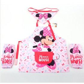 디즈니 미니마우스 방수 앞치마세트
