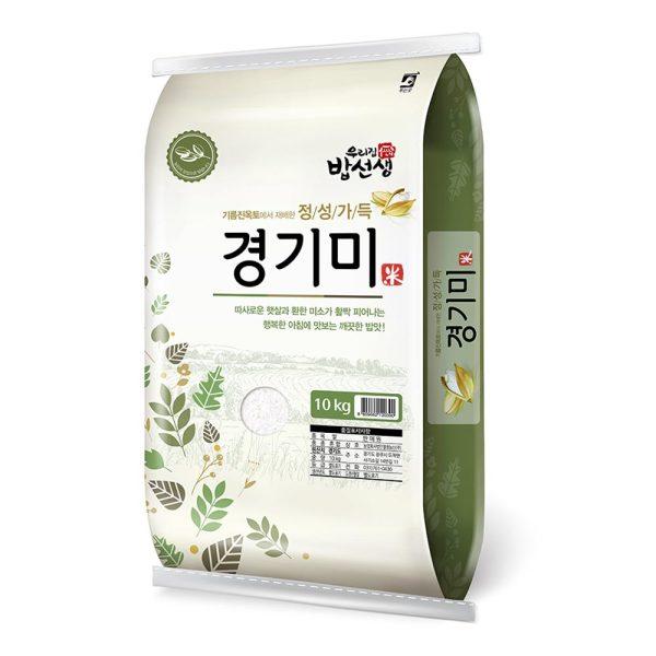정성가득 경기미 쌀10kg 맑고 기름진 토양에서 재배 상품이미지