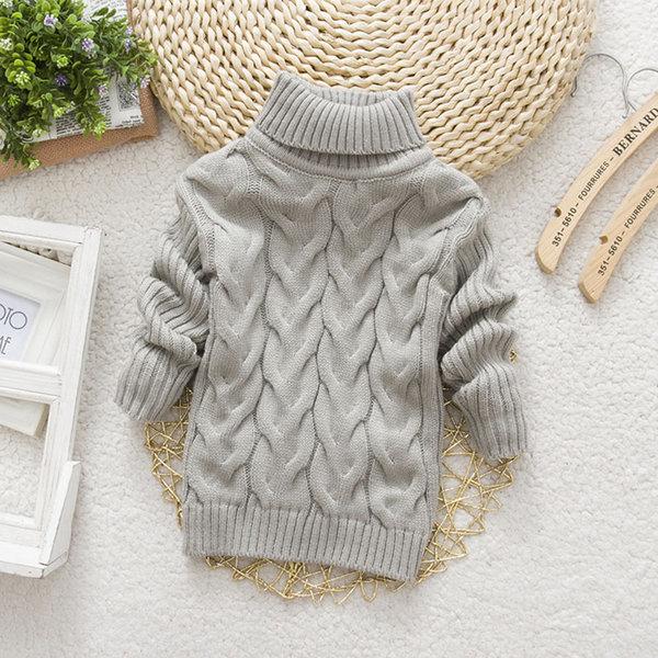 판촉 남녀 아동 모두 입을 수 있는 터틀넥 스웨터 상품이미지