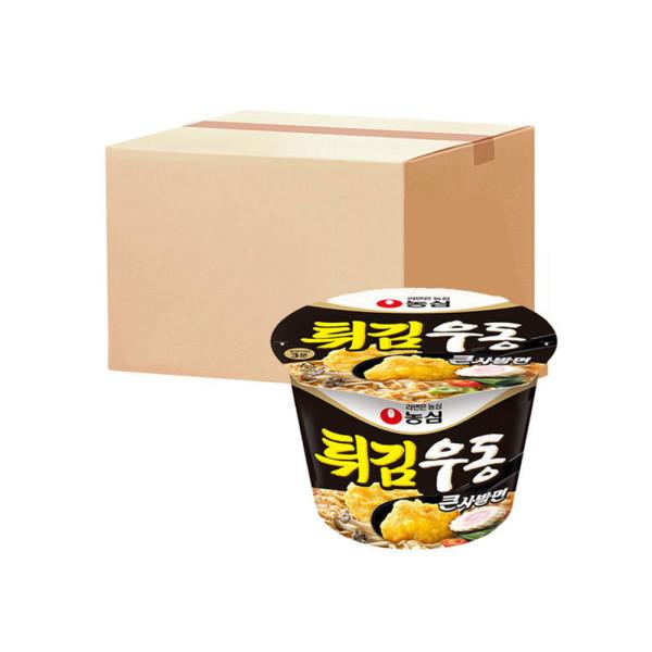 튀김우동큰사발  111g X 16개 박스 상품이미지