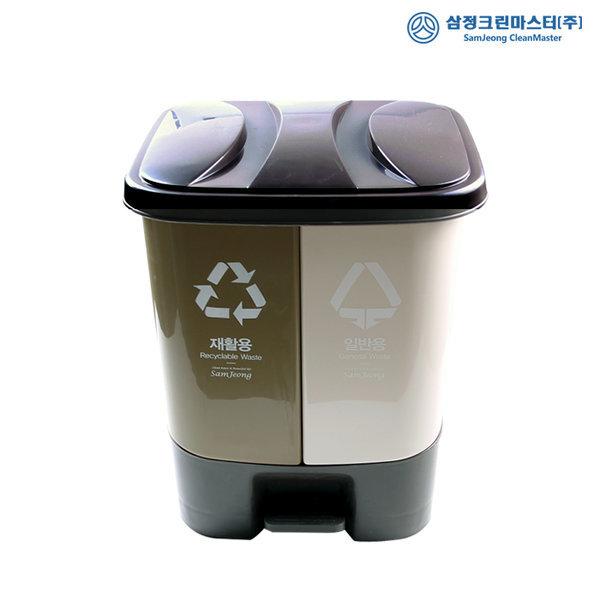 패달분리형20L 분리수거함 쓰레기통 휴지통 재활 상품이미지