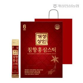 개성상인 침향홍삼스틱 10ml 100포 /쇼핑백 증정