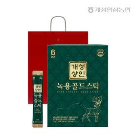 개성상인 녹용골드스틱 10ml 100포 /쇼핑백 증정