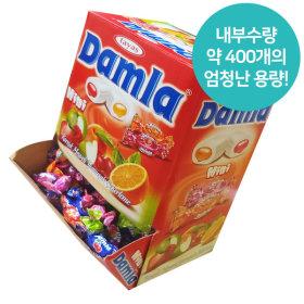 타야스 담라 어소티드 소프트 캔디 2Kg/사탕 카라멜