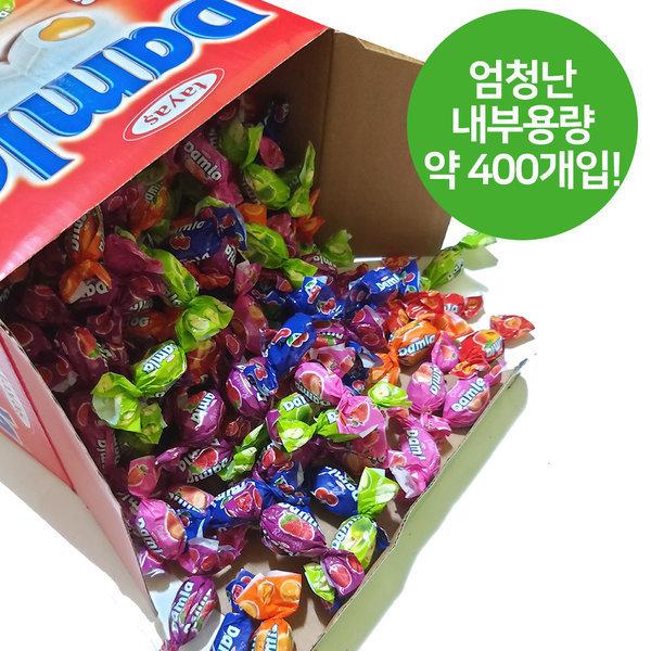 담라 어소티드 소프트캔디 2kg(400개입) 카라멜 사탕 상품이미지