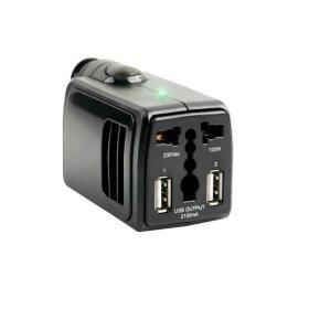 차량용 시가잭 220v 인버터 2포트 100W/2.1A USB